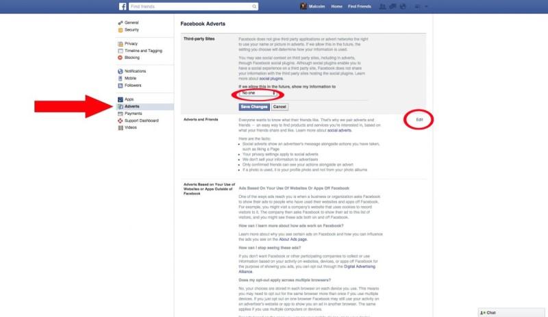 Cum să fii complet invizibil pe Facebook