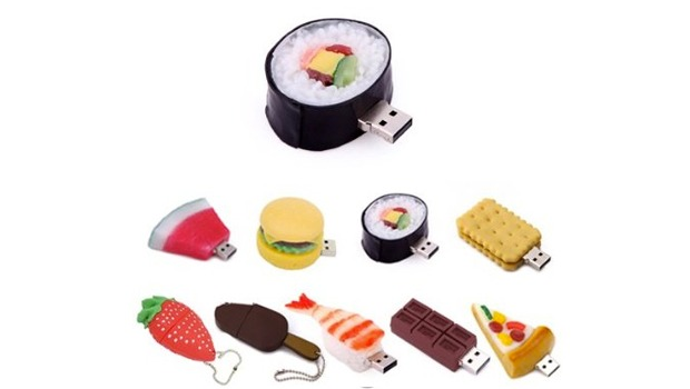 USB sub formă de mâncare