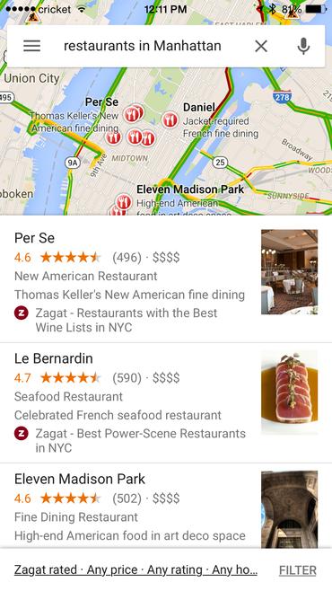 google-maps-zagat-filter