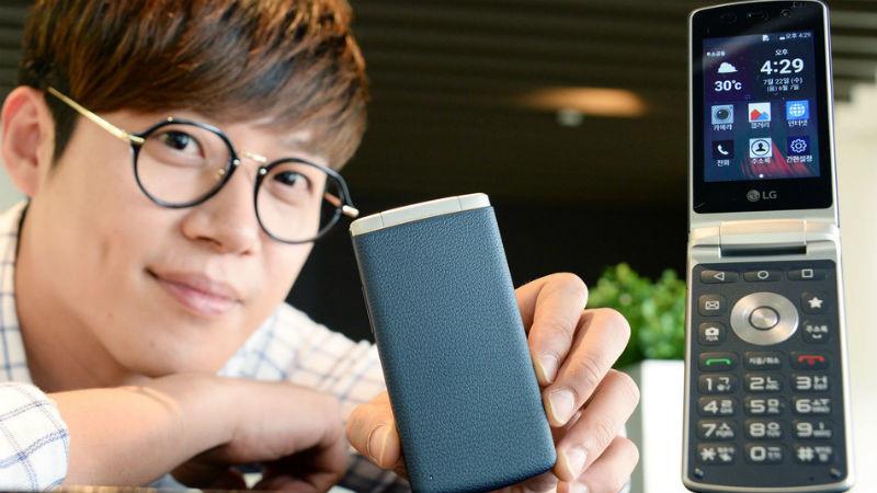 Ţi-e dor de telefonul cu clapetă? LG a lansat unul nou
