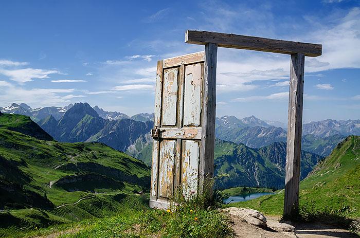 Alpii Germani. poza facuta de Dominic Walter