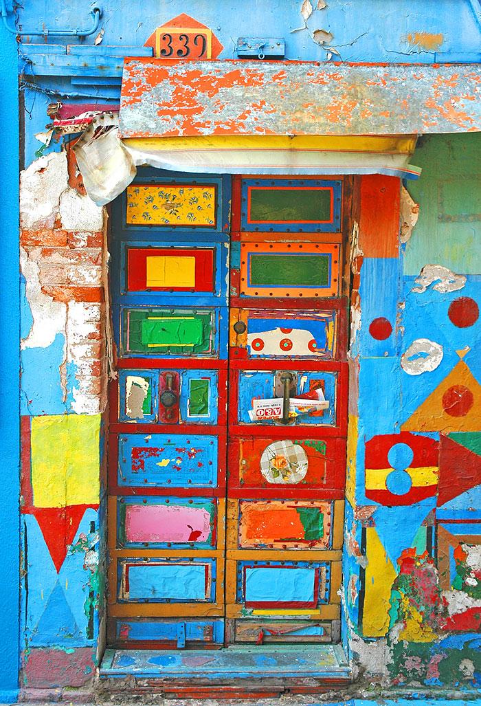 Burano, Italia. poza facuta de John C. Hutchins