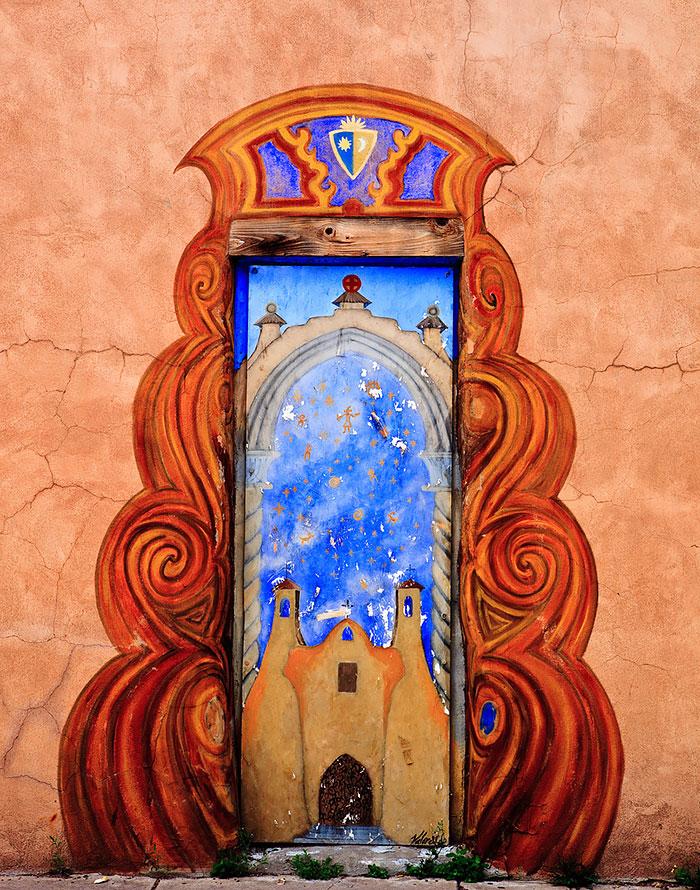 Santa Fe, New Mexic, SUA. poza facuta de Ken Piorkowski