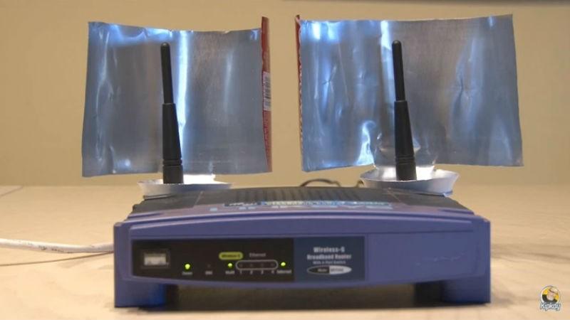 Cum îmbunătăţeşti semnalul Wi-Fi din casa ta cu o doză de bere