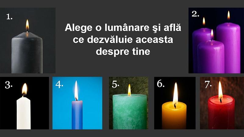 Testul lumânării te ajută să te redescoperi