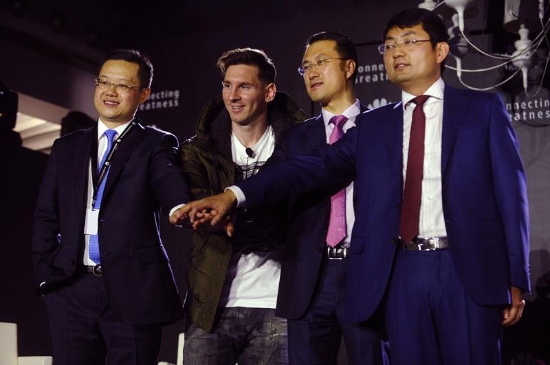Lionel Messi_Noul Ambasador de Brand Global Huawei_6