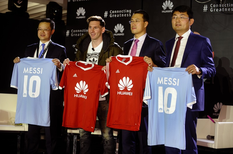 Lionel Messi_Noul Ambasador de Brand Global Huawei_8