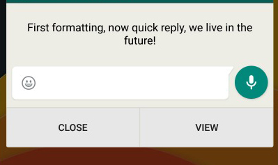WhatsApp-Quick-Reply