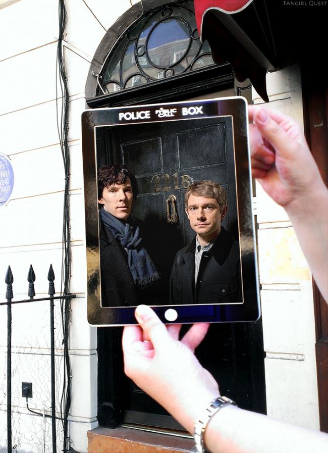 Sherlock BBC Londra Regatul Unit