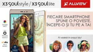 Allview X3 Soul Style & X3 Soul Lite