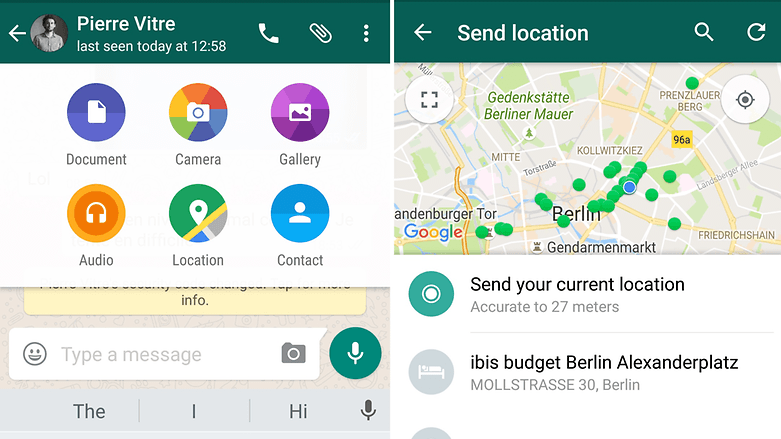 Cum dai share location de pe smartphone-ul Android