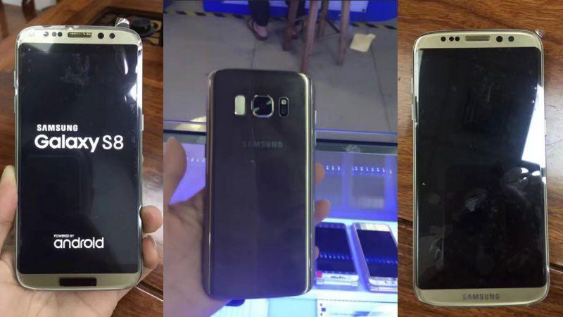 Samsung Galaxy S8 original şi clona sa