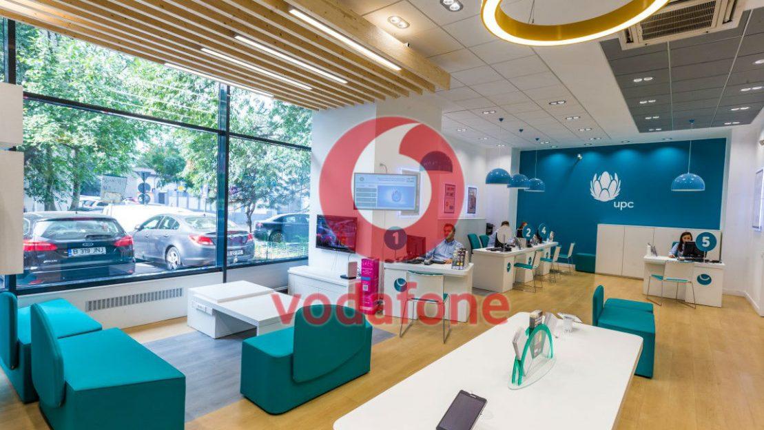 Vodafone achiziționează UPC România