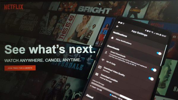 Descarcă seriale de pe Netflix