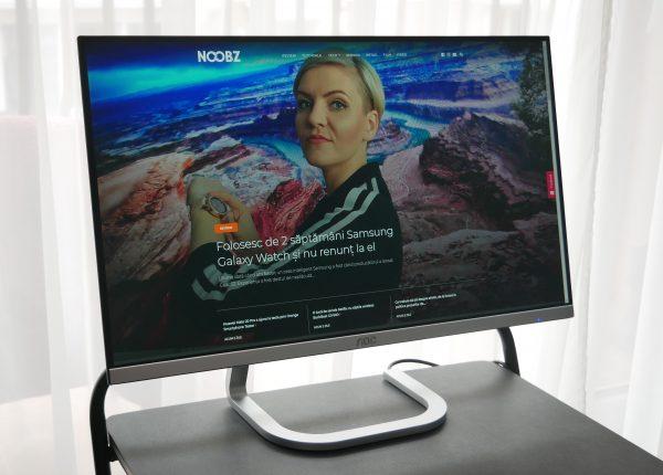 Folosesc din nou un monitor