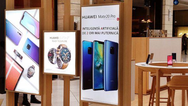 Huawei deschide Huawei Experience Shop
