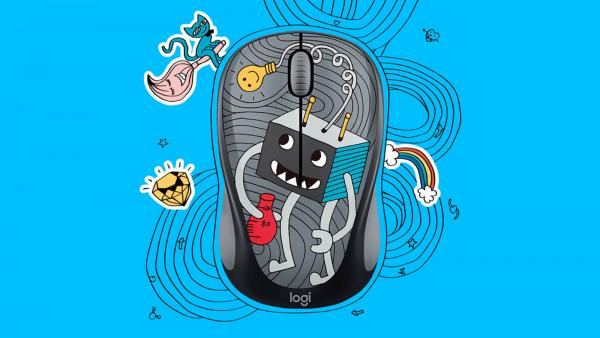 m238 este un mouse ieftin si fasnet