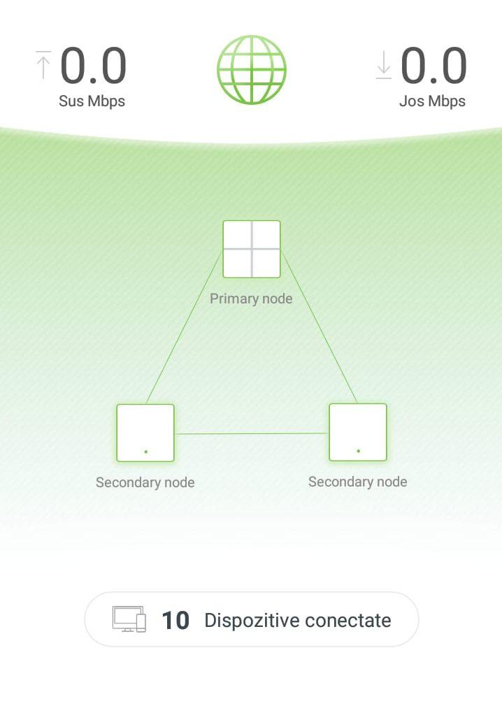 Aplicație Tenda WiFi