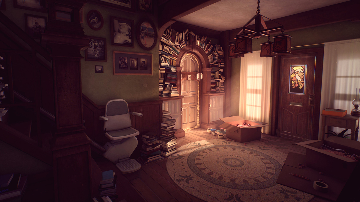 What Remains of Edith Finch Camera gemenilor Sam și Calvin