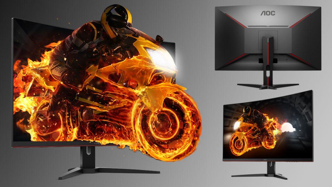 AOC CQ32G1 QHD oferă o experiență de gaming veritabilă