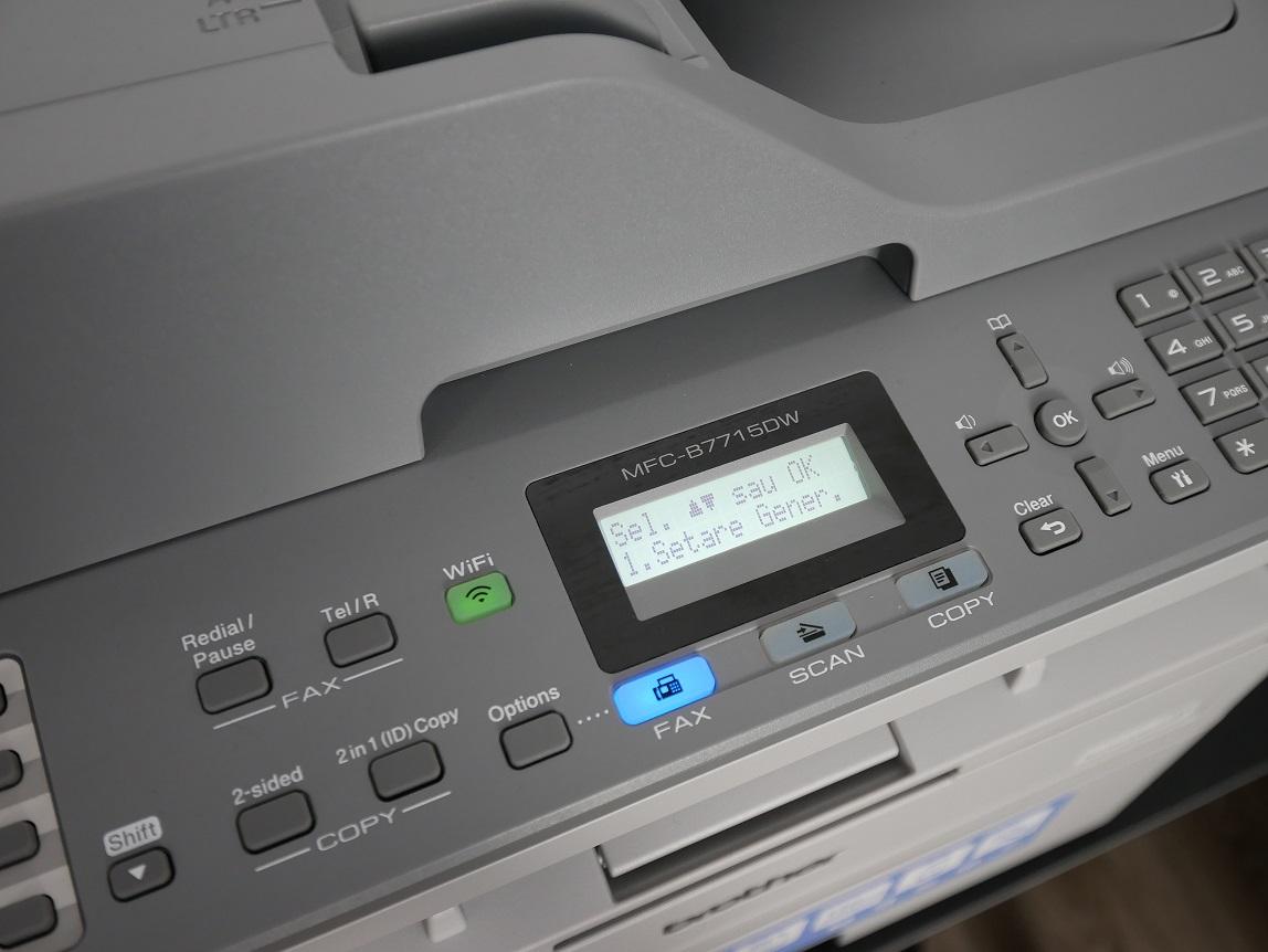 MFC-B7715DW LCD LED