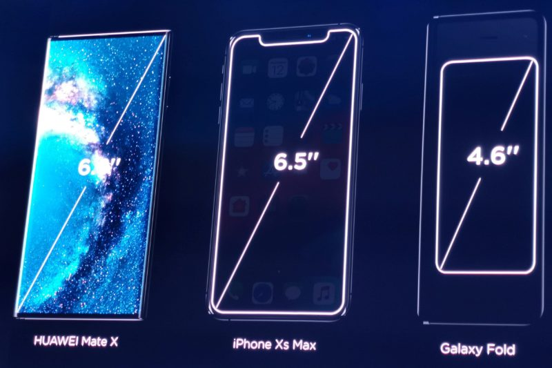 Huawei Mate X pliabil se lansează