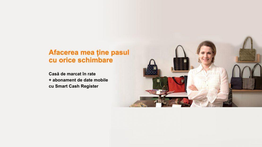 Orange Smart Cash Register: case de marcat cu jurnal electronic pentru IMM-uri