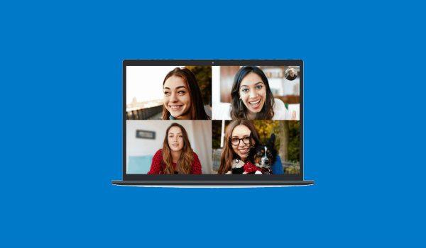 Skype te lasă să blurezi fundalul
