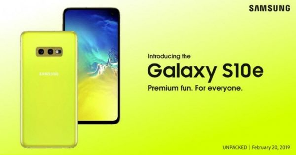 Cât va costa Samsung Galaxy S10e în România