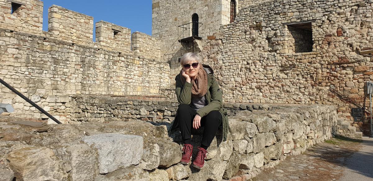 Turist în Belgrad