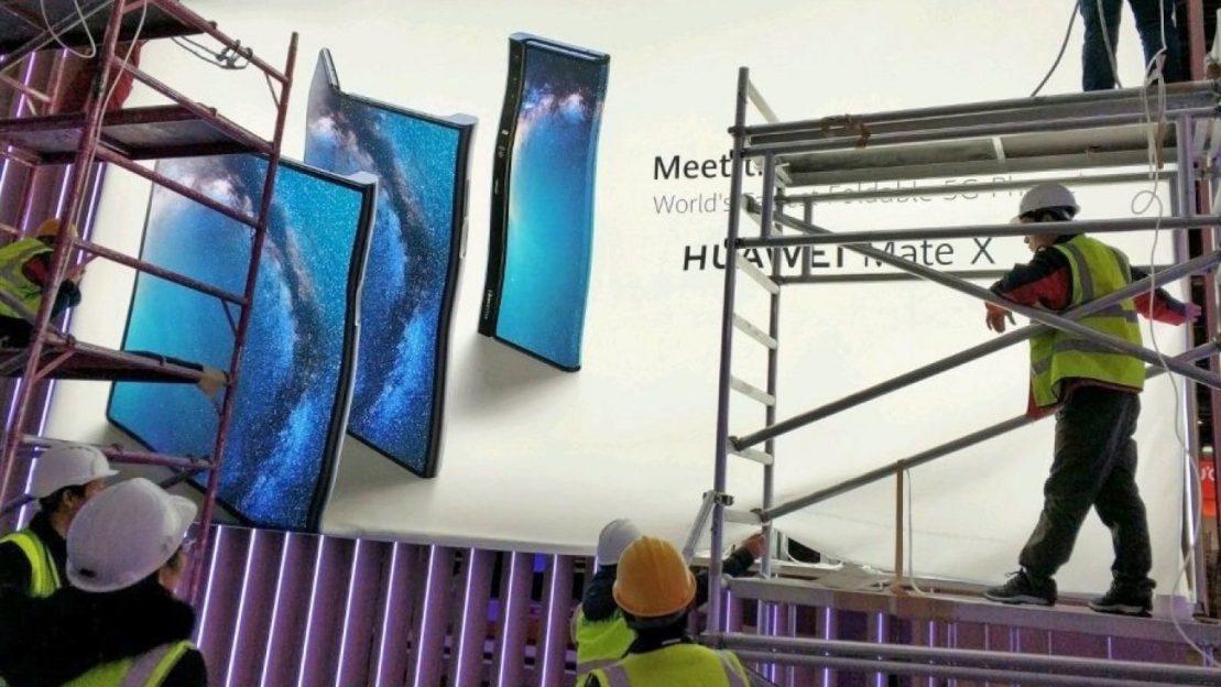 Telefonul pliabil Huawei