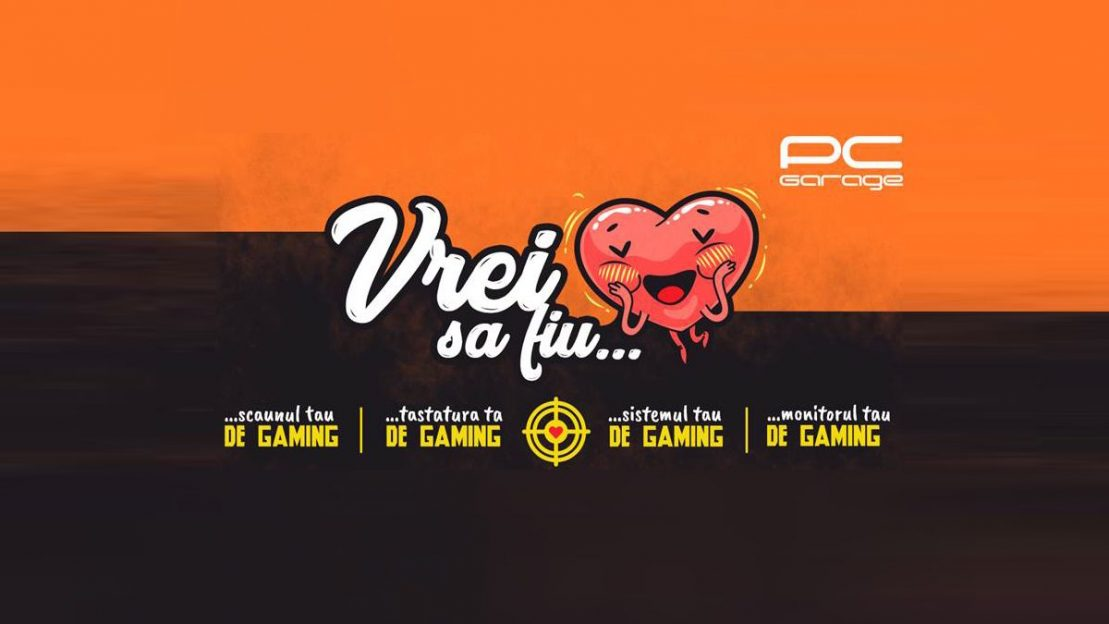 PC Garage propune un Valentine's Day pentru pasionați de jocuri