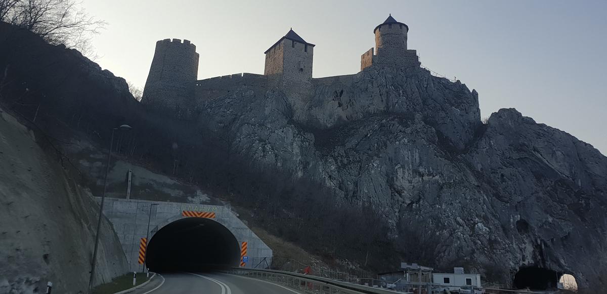 tunel dunare romania-belgrad
