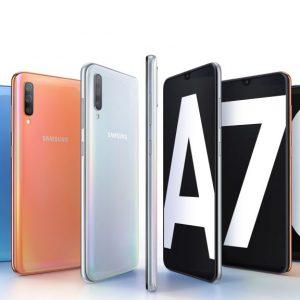 Samsung lansează smartphone-ul Galaxy A70