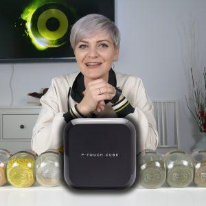 Brother P-Touch Cube Plus pune ordine în lucruri