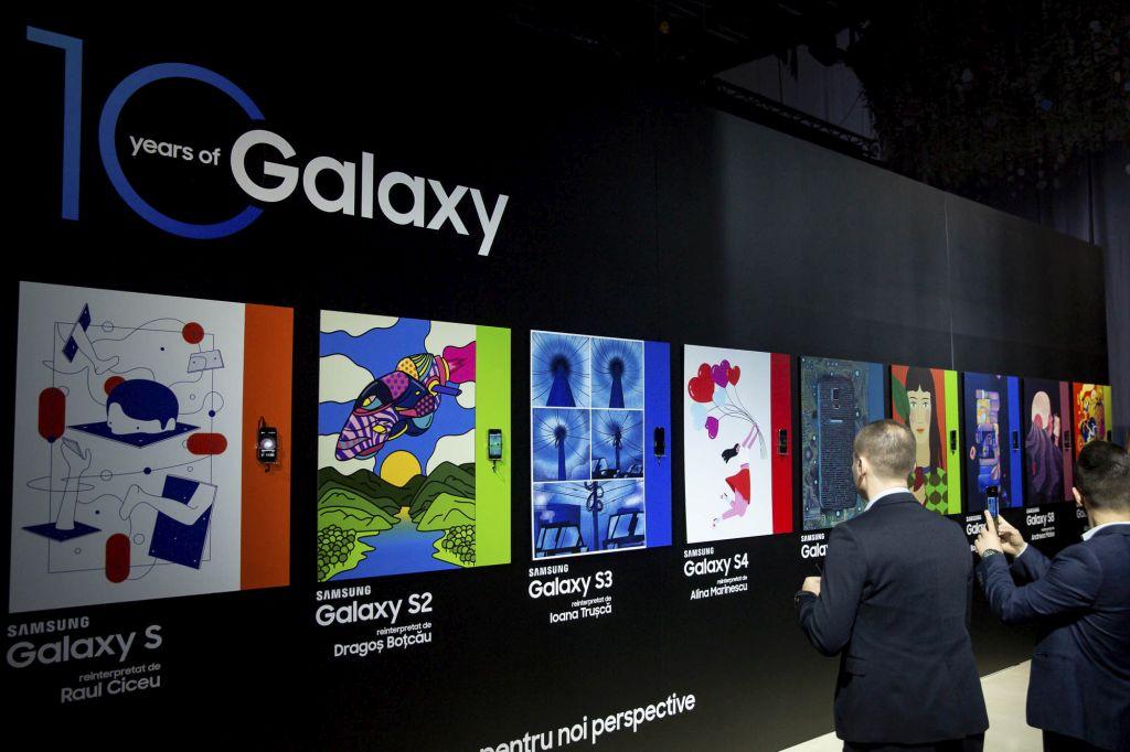 Samsung lanseazăGalaxy S10 în România