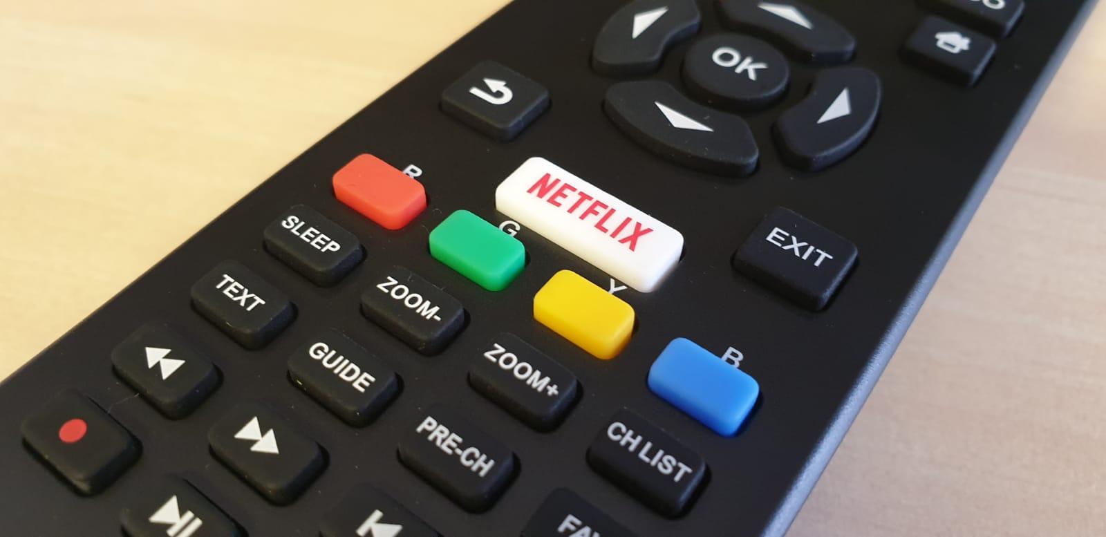 buton dedicat pentru netflix