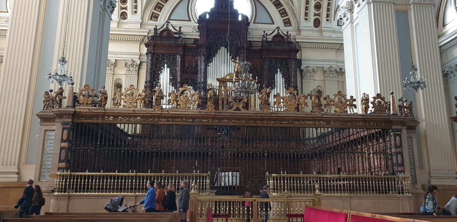 orga Catedrala-Bazilică Nuestra Señora del Pilar