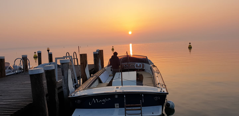 barca lago di garda