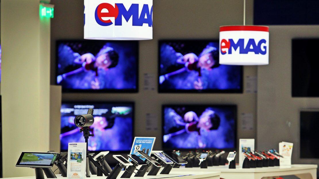Primul showroom cu eMAG Express