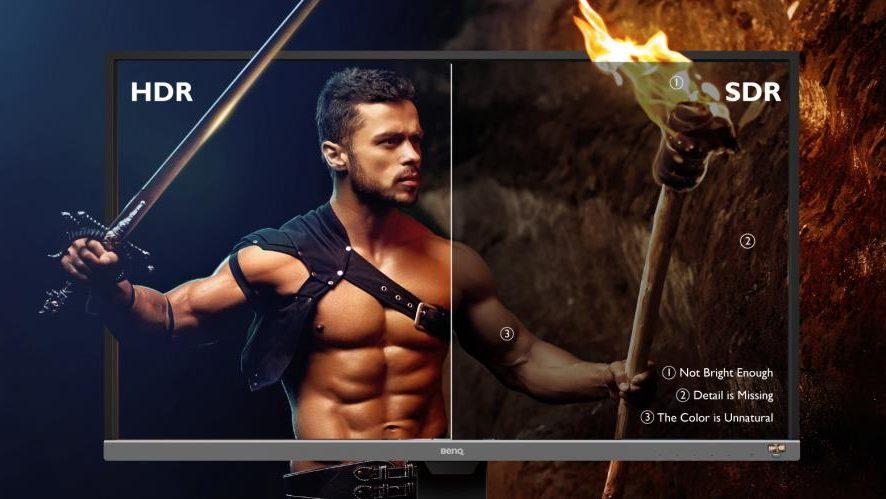 Monitorul 4K BenQ EW3270U