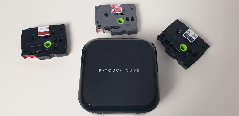 p-touch cube si rezerve