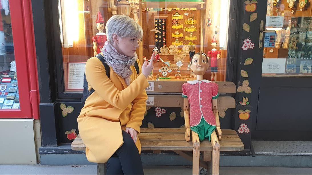 Pinochio in Viena