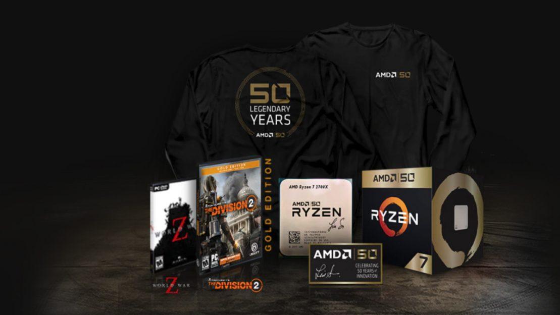 AMD lansează AMD Ryzen Gold Edition și AMD Radeon VII Gold Edition