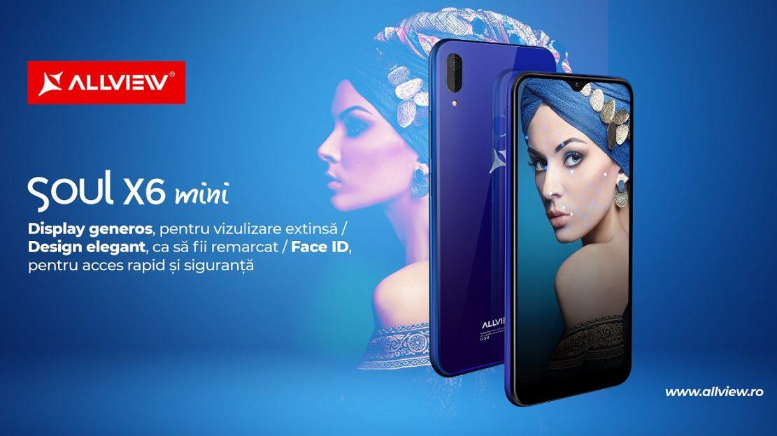 Allview lansează telefonul Soul X6 Mini