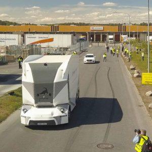 Camionul autonom Einride T-Pod