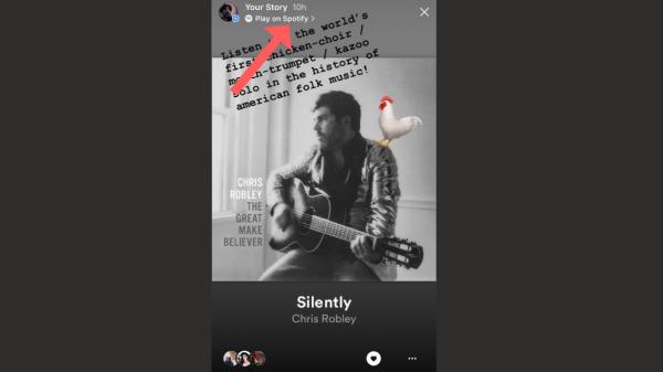 Instagram testează stickere cu versuri