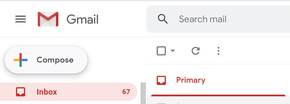 Cum programezi trimiterea unui email pe Gmail - Apasă butonul compose