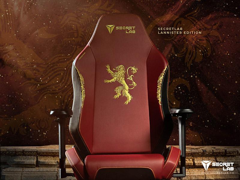 Secretlab Game of Thrones Lannister