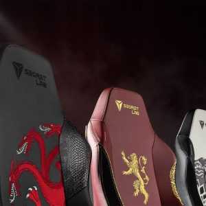 Secretlab Game of Thrones sunt scaunele de gaming lansate de HBO și Secretlab